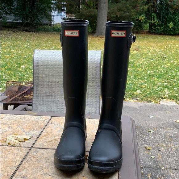Hunter Shoes - Hunter tall rain boots